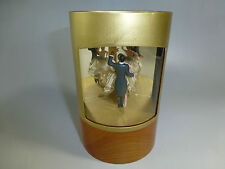VINTAGE REUGE DOUBLE DANCING BALLERINA MUSIC BOX FULLY RESTORED  ( WATCH VIDEO )