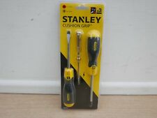 STANLEY 2PCE CUSHION GRIP + 66 119 MAINSTESTER SCREWDRIVER SET 0 65 012