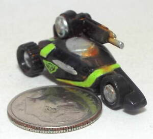 Very Small Micro Machine Plastic Futuristic Armed Tri-Cycle