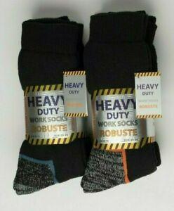 Heavy Duty Work Socks Reinforeced Heel Toe Cushioned Rigger Steel Cap Toe Boots