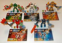 Lego Nexo Knights Bundle of 5 Sets