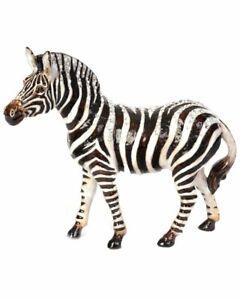 Jay Strongwater Stanley Zebra Figurine