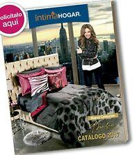 Catalogo Oficial Intima Hogar donde se muestra a una Thalia Hogareña