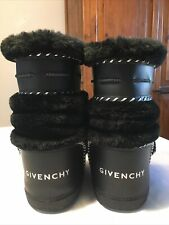 Women's GIVENCHY Moon Snow Boots Size US 5.5-6.5 -7 EU 35-37 Gorgeous