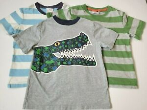 Boys Hanna Andersson Short Sleeve Shirt size 120 (6/7) lot of 3
