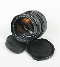 Carl Zeiss Jena MC Pancolar 80mm f/1.8 Lens M42 mount