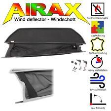 AIRAX Windschott Wind deflector für Mercedes CLK A 208 year1997-2003 schwarz