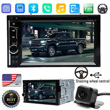 For Chevy Silverado 1500 6.2 inch CD DVD AUX BLUETOOTH CAR 2 Din Stereo + Camera