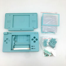 Light Blue full Housing Shell Buttons + Screwdriver For Nintendo DS Lite NDSL