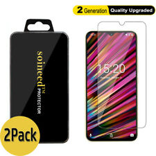 2-Pack UMIDIGI F1 Play A5 S3 Pro Power X One Max Tempered Glass Screen Protector