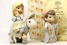 Precious Moments FLIGHT INTO EGYPT 455970 - Large Nativity Addition / Set of 2