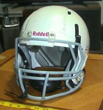 Riddell Victor Youth Football Helmet White Small Medium SM/MED used