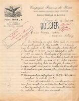 Compagnie française du phénix-agence générale de Langres - Jules Joyeux 1921