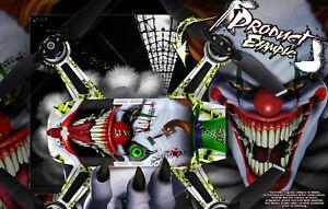 WRAP SKIN DECAL KIT FOR DJI SPARK DRONE *EXTRA 3 BATTERY SKINS 'STIFF UPPER LIP'