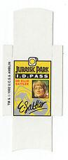 Bassett Barratt Jurassic Park Candy stick slide mint unfolded Dr Ellie Satler ID
