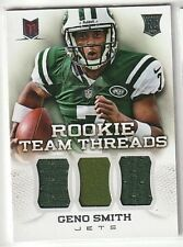 GENO SMITH ROOKIE LOT:2 RC JERSEYS,2 PATCHES,& 22 DIFFERENT ROOKIES+20 DIFFERENT