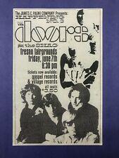 The Doors - June 7, 1968 Concert Handbill