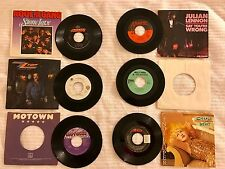 "12 VINYL RECORD ALBUM LOT 80s 90s R&B 45 7"" Michael Jackson Cyndi Lauper Motown"