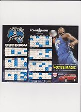 Orlando Magic NBA - Magnetic Game Calendar - 2006/07 Season - Dwight Howard