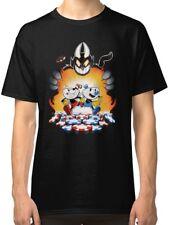 CupHead Black Tees Tshirt Clothing