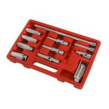 Spark Plug & Glow Plug 11pc Master Service Kit Socket Set (Neilsen CT3539)