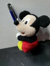 "Disney World Mini Mickey Mouse 6"" Plush Stuf Magnetic hands/feet Bag Accessory"
