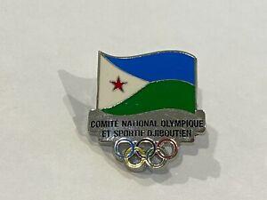 Djibouti Tokyo 2020 NOC Pin Badge - LAST ONE!