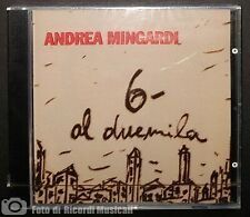 ANDREA MINGARDI - 6- AL DUEMILA **NUOVO SIGILLATO**1994
