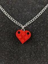 BrickCrafts Fashion Heart Pendant Necklace ❤️ #LEGOHeartNecklace