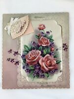 Lot Vintage x7 Husband / Wife Greeting Cards 1940's Rust Craft - used see notes
