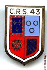 Obsolète. Compagnie Republicaine de Securité N° 43. Fab. Drago Paris