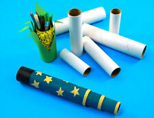 Cardboard Tubes / Modelling Rolls - x15 - 3 sizes, 5 of each size