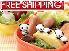■ PANDA BEAR FOOD PICKS SET ■ FOR BENTO LUNCH BOX  8-PIECE JAPANESE KAWAII STYLE