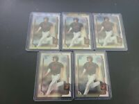 RYAN MOUNTCASTLE (5) CARD LOT BOWMAN CHROME 1st , 1st ROOKIE CARD ORIOLES!