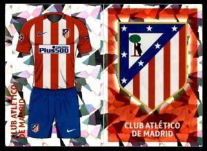 Topps CL 2016-17 ATL1/ATL2 Club Logo/Home Kit Club Atlètico