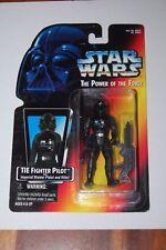 TIE Fighter Pilot Warning Sticker-Star Wars-Power of the Force-Orange Card-MOC