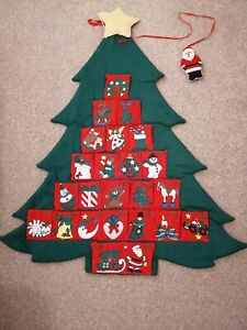 Christmas Advent Fabric Calender