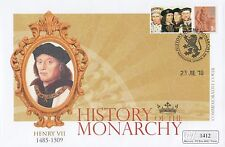 (95266) GB Mercury Cover Henry VII History of Monarchy 2009 NO INSERT