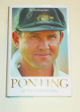 """RICKY PONTING HAND SIGNED """"A CLOSE OF PLAY"""" BOOK UNFRAMED + PHOTO PROOF &  C.O.A"""