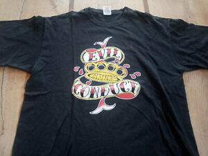 Evil Conduct Shirt Last Resort Cock Sparrer Exploited Oi! Old firm Casuals GBH