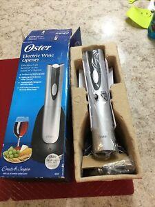 oster electric wine opener NIB