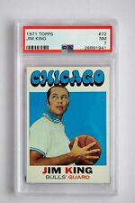 1971 Topps Jim King #72 (PSA NM 7) Basketball Card A0658