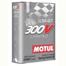 Motul 300V Chrono 10W40 Engine Oil - Circuit Racing | Rallying - 2 Litres/2L