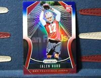 2019 Panini Prizm #361 JALEN HURD RC RED WHITE & BLUE PRIZM SP 49ers Rookie