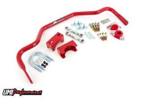 "UMI Performance 78-88 Regal G-Body 1-3/8"" Tubular Rear Drag Race Sway Bar 3"""