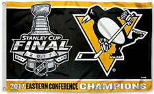 2017 FLAG Eastern Conf Stanley Cup Champions Pittsburgh Penguins Flying 3x5 Feet