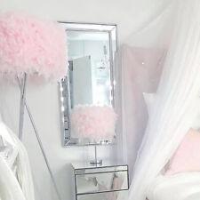 Large Silver Tall Slim Mirror Framed Wall Full Leaner Bevelled Modern Display