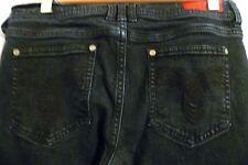 Womens Fire Denim Size 5 32L Stretch Lisa Skinny Jeans Blue Dark Wash