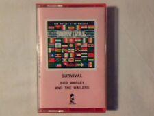 BOB MARLEY & THE WAILERS Survival mc cassette k7 ITALY COME NUOVA LIKE NEW!!!