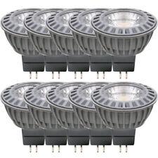 10 x LED Leuchtmittel Reflektor 4W = 20W GU5,3 MR16 COB warmweiß 3000K flood 38°
